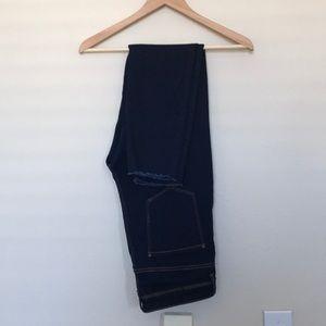 Zara Super High Waisted Skinny Jeans